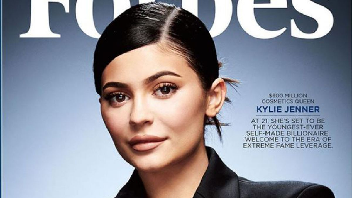 Kylie Jenner Forbes Gaia Servicios