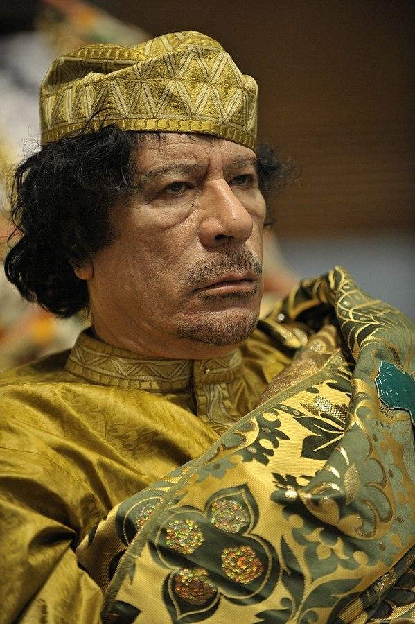 Muamar el Gadafi octavo hombre más rico de la historia Gaia Servicios