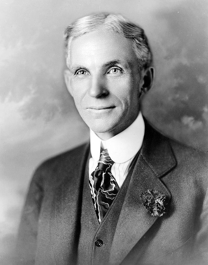 Henry Ford noveno hombre más rico de la historia Gaia Servicios