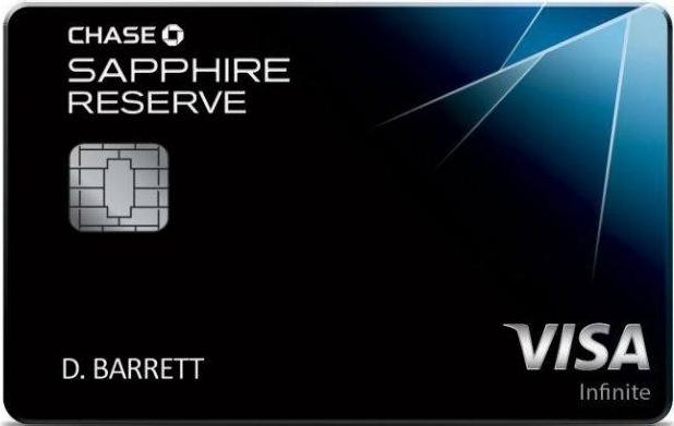 Tarjeta de crédito Visa Infinite otorgada por Morgan Chase Bank de Estados Unidos