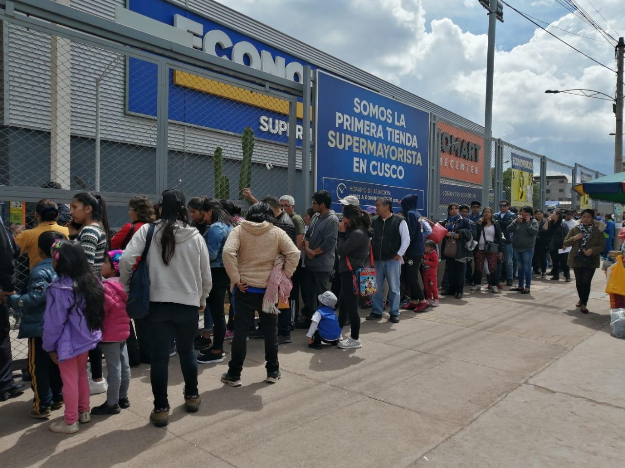 Desabastecimiento a causa del coronavirus en Perú