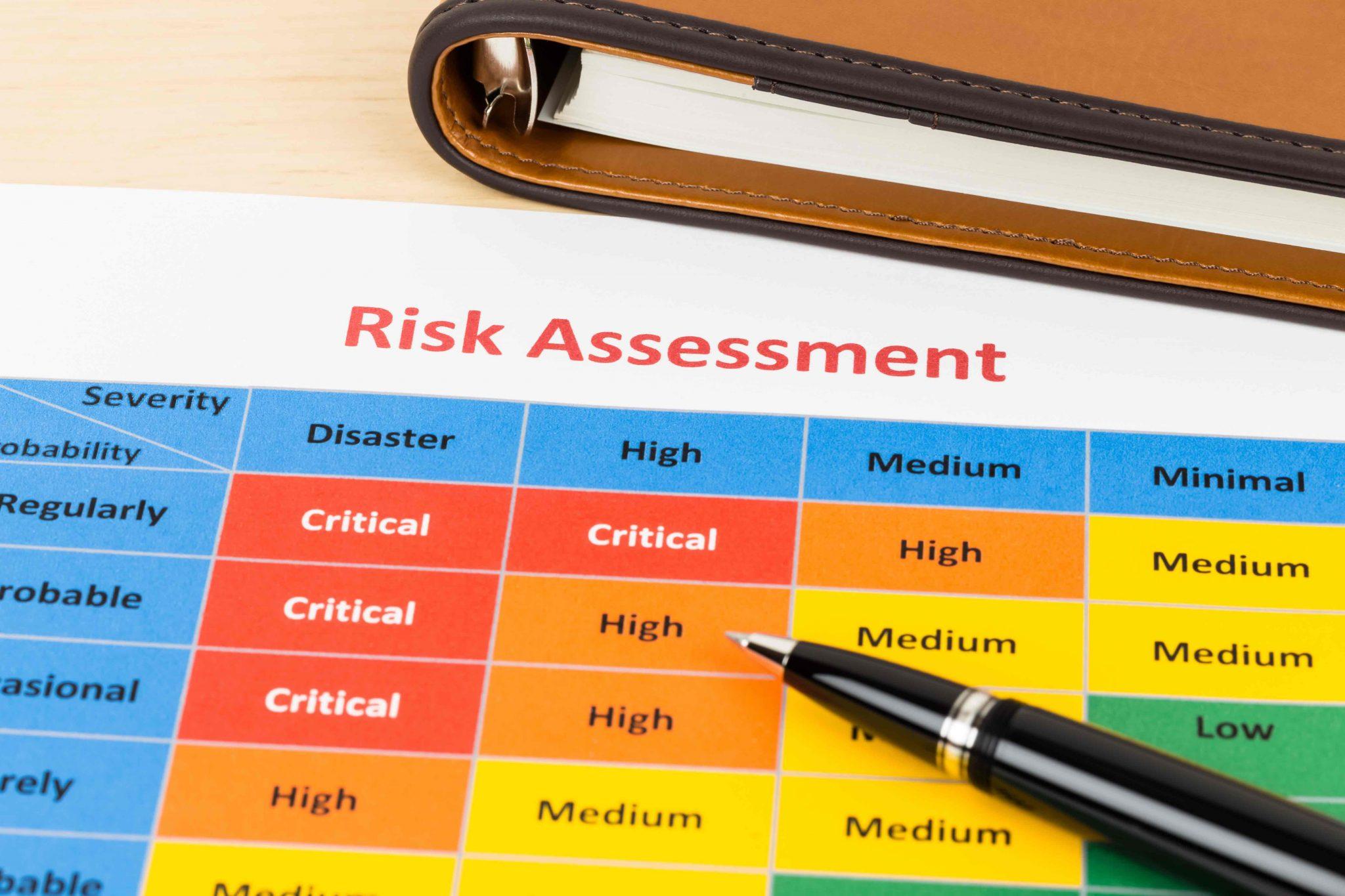 ejemplos de matriz de riesgos o IPER
