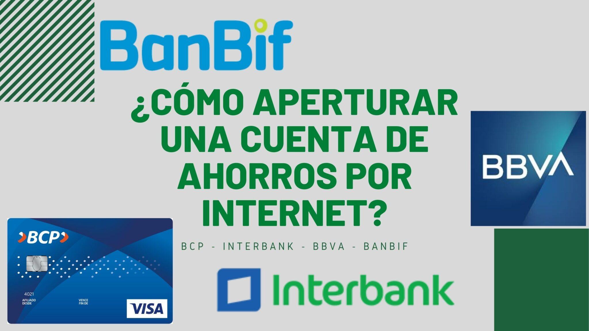 como abrir una cuenta de ahorros bcp por internet
