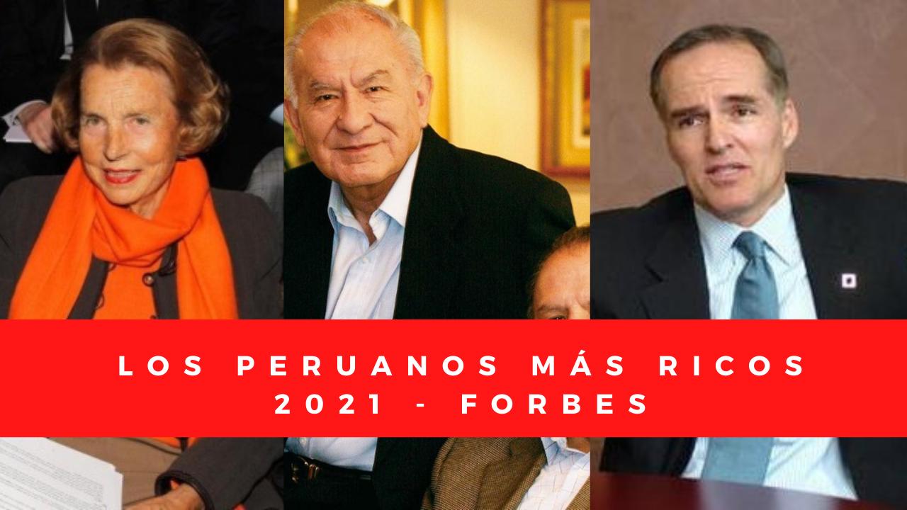 Los peruanos más ricos