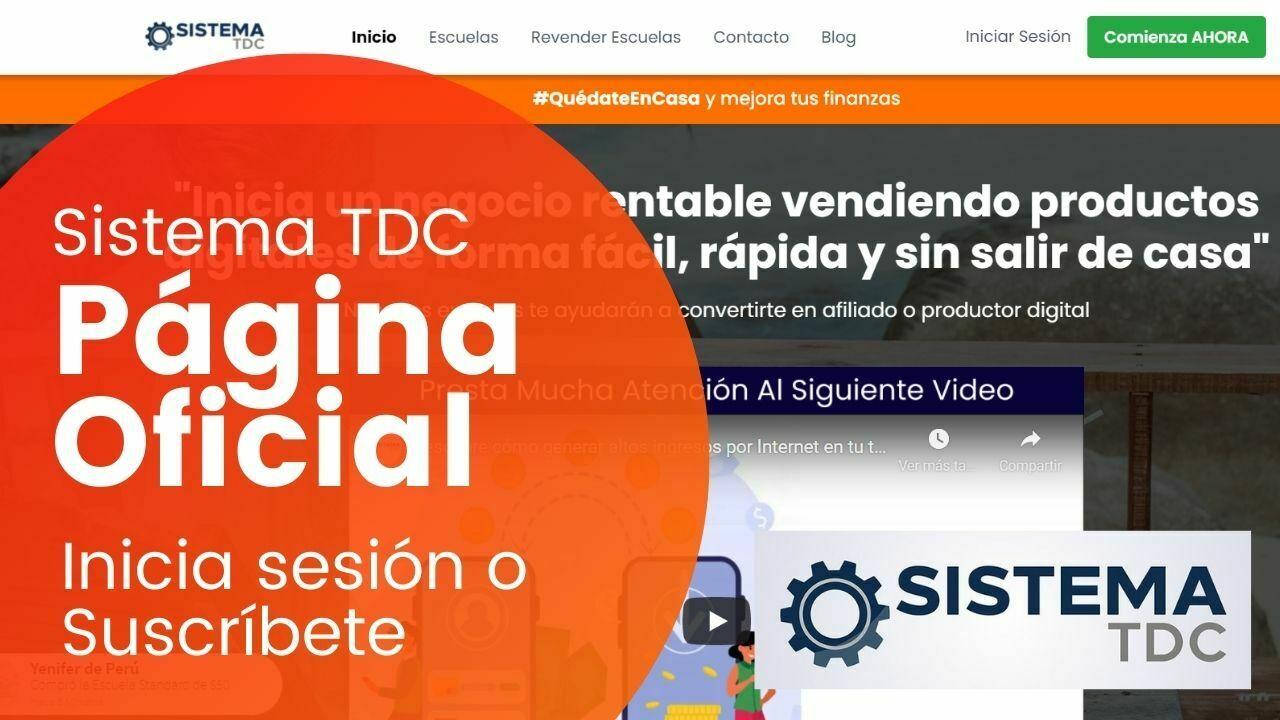 Sistema tdc pagina oficial